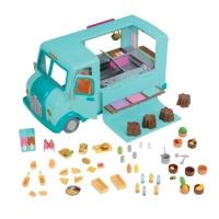 Li`l Woodzeez Игровой набор - Закусочная на колесах