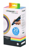 Polaroid Набор нити 1.75мм PLA для ручки 3D Polaroid PLAY (20 цветов)