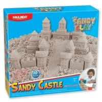 PAULINDA Пісок для творчості Sandy clay Sandy Замок 600г 10 од.