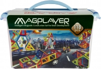 MagPlayer Конструктор магнитный 118 эл. (MPT-118)