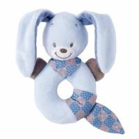 Nattou Брязкальце-кільце кролик Бібу