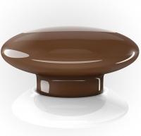 Fibaro Умная кнопка The Button, Z-Wave, 3V ER14250, коричневая