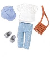 LORI Набір одягу для ляльок із сумкою
