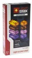 LIGHT STAX Конструктор з LED підсвіткою Expansion Помаранчевий, Коричневий, Фіолетовий, Рожевий S11003