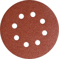 Klingspor Шлифовальный круг  (липучка) O125мм P240 с отверстиями PS18EK
