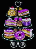 Sequin Art Набір для творчості BLUE Cakestand