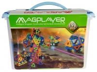 MagPlayer Конструктор магнитный 198 ед. (MPT-198)