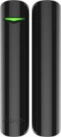 Ajax Датчик відкриття дверей/вікна з сенсором удару і нахилу DoorProtect Plus, Jeweller, чорний