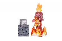 Minecraft Ігрова фігурка Skeleton on Fire серія 4