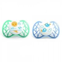 Nuvita симетрична Air 0м+ 2шт. для хлопчика