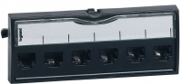 Legrand Заглушка для 19'' патч-панели Legrand, черная, LCS 2