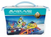 MagPlayer Конструктор магнітний 88 од. (MPT-88)
