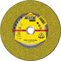 Klingspor Круг отрезной по металлу 230х3х22,2 Kronenflex A24 Extra