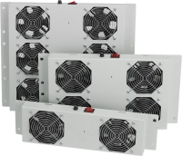 MIRSAN Вент. панель 4 вент., RAL 7035