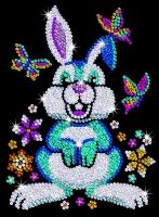 Sequin Art Набір для творчості RED Binky the Bunny New