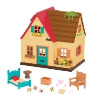 Li`l Woodzeez Игровой набор - Загородный дом