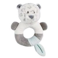 Nattou Погремушка-кольцо леопард Лея
