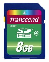 Transcend SDHC Class 4 [SDHC Class 4 8Gb]