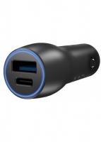 ASUS Car Charger (ACHU001) USB-A+USB-C (28W) Black