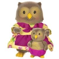 Li`l Woodzeez Набір фігурок - Сови: мама і малюк