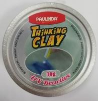 PAULINDA Розумний пластилін Thinking Clay з УФ ліхтариком 30г (синій)