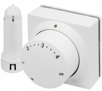Danfoss Термоголовка RA 5062, дистанционного управления, длина кабеля 2м, датчик температуры, белая