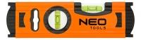 Neo Tools 71-030 Рiвень алюмiнiєвий 20 см, 2 вiчка