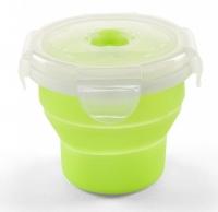 Nuvita Контейнер-трансформер для їжі 6м+ 230мл (салатовий)