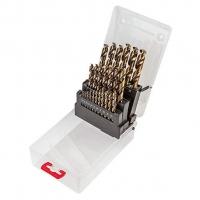 Verto Свердло по металу HSS-G,  1.0 - 13.0  мм, набір 25 шт.