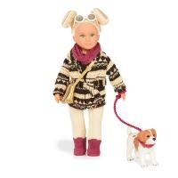 LORI Лялька (15 см) Дакота з собачкою