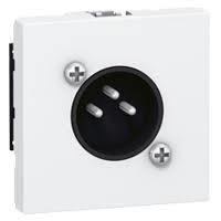 Legrand Розетка аудіо XLR, 3-pin,