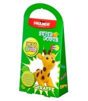PAULINDA Маса для ліплення Super Dough Fun4one Жираф (рухливі очі)