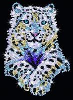 Sequin Art Набір для творчості BLUE Snow Leopard