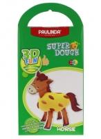 PAULINDA Маса для ліплення 3D FUN Кінь