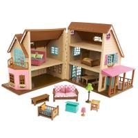 Li`l Woodzeez Игровой набор - Большой коттеджный дом
