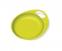 Nuvita Тарілка для годування Easy Eating дрібна 2шт. (салатова)