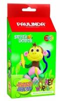 PAULINDA Маса для ліплення Super Dough Monkey World мавпа з очима