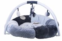 Nattou Килимок розвиваючий з дугами і подушками Алекс і Бібу