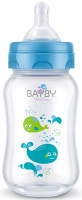 Bayby Пляшечка для годування 250мл 0м+ синя