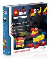 LIGHT STAX Конструктор з LED підсвічуванням Basic 5в1 Реакція на звук світлом LS-S12011