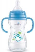 Bayby Пляшечка для годування 240мл 6м+ синя