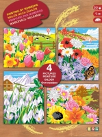 Sequin Art Набір для творчості PAINTING BY NUMBERS Box Set Seasons