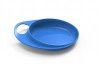 Nuvita Тарілка для годування Easy Eating дрібна 2шт. (Синя)