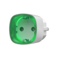 Ajax Розумна розетка з лічильником енергоспоживання Socket біла, Jeweller, 230V, 11А, 2.5 кВт