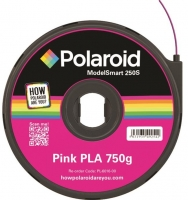 Polaroid Картридж с нитью 1.75мм/0.75кг PLA, розовый