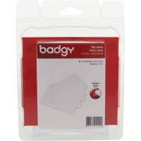 Badgy Пластикові картки 0.76 мм для принтера Badgy100/200 (100 штук)