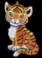 Sequin Art Набір для творчості RED Tia Tiger