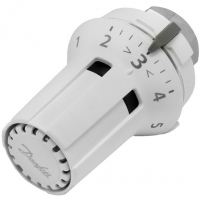 Danfoss Термоголовка RAW-K 5030, встроенный датчик температуры, резьба М30 х 1.5, белая