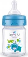 Bayby Пляшечка для годування 120мл 0м+ синя