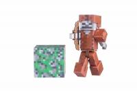 Minecraft Колекційна фігурка Skeleton in Leather Armor серія 3